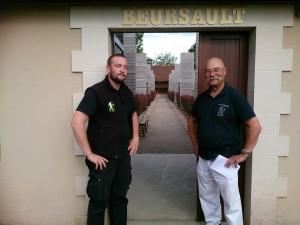 Gwénolé et Jean Bernard