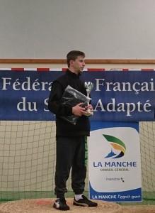 Gaétan DUVAL lors du championnat de ligue
