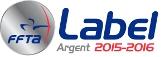 logo label argent