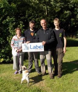 l'équipe St Loise venant de recevoir le label