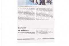 Ouest France 2014 - 2015